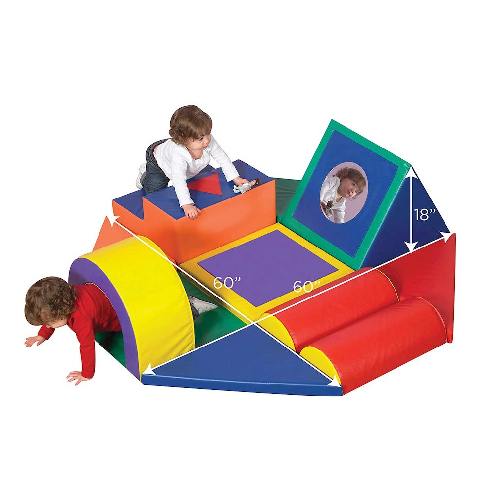 Shape & Play Obstacle Course. Picture 1