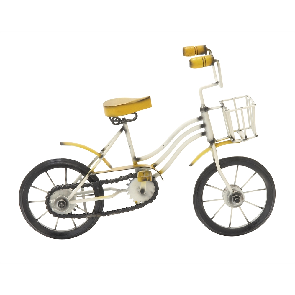 Metal wood bicycle 13 quot w 10 quot h