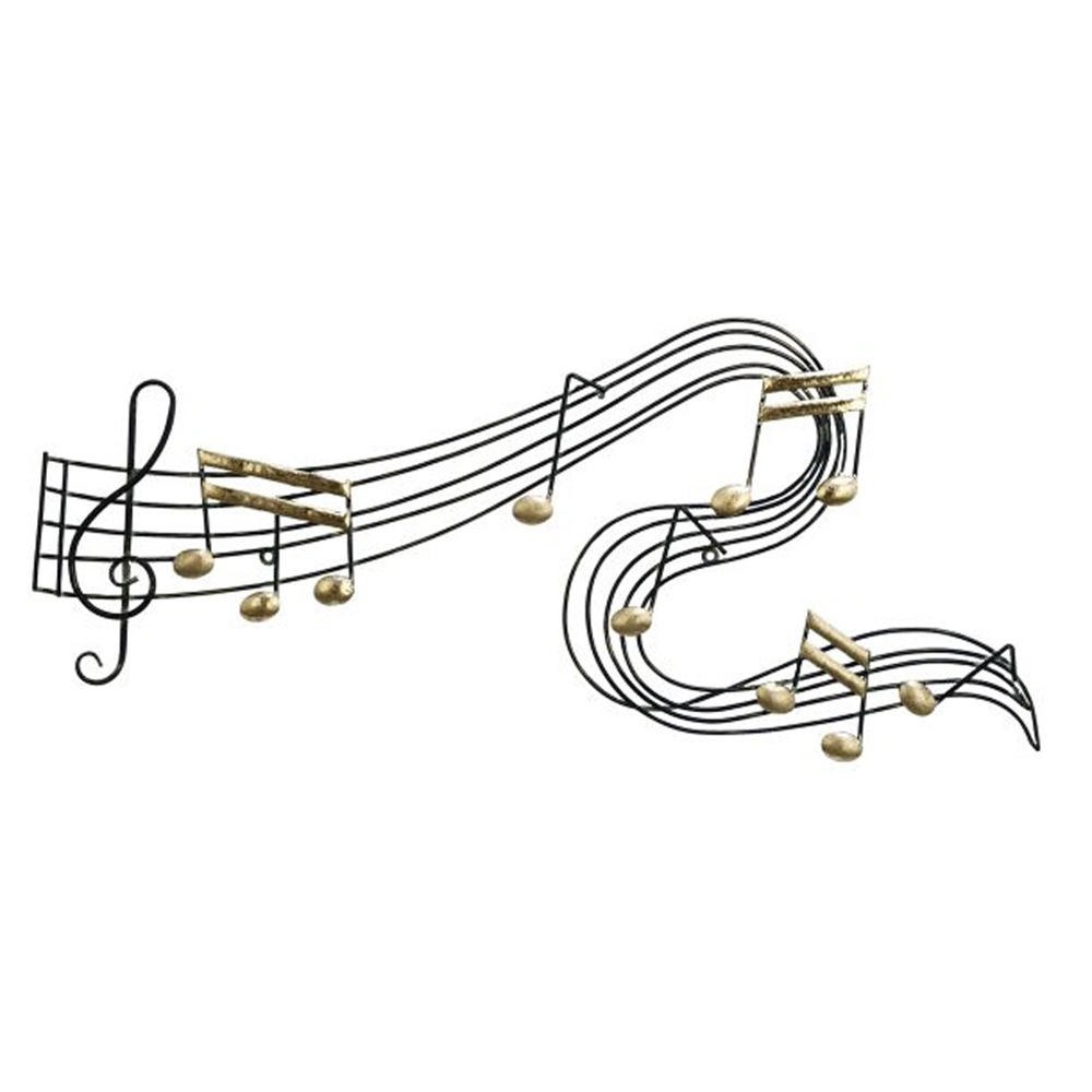 Beautiful Metal Music Notes