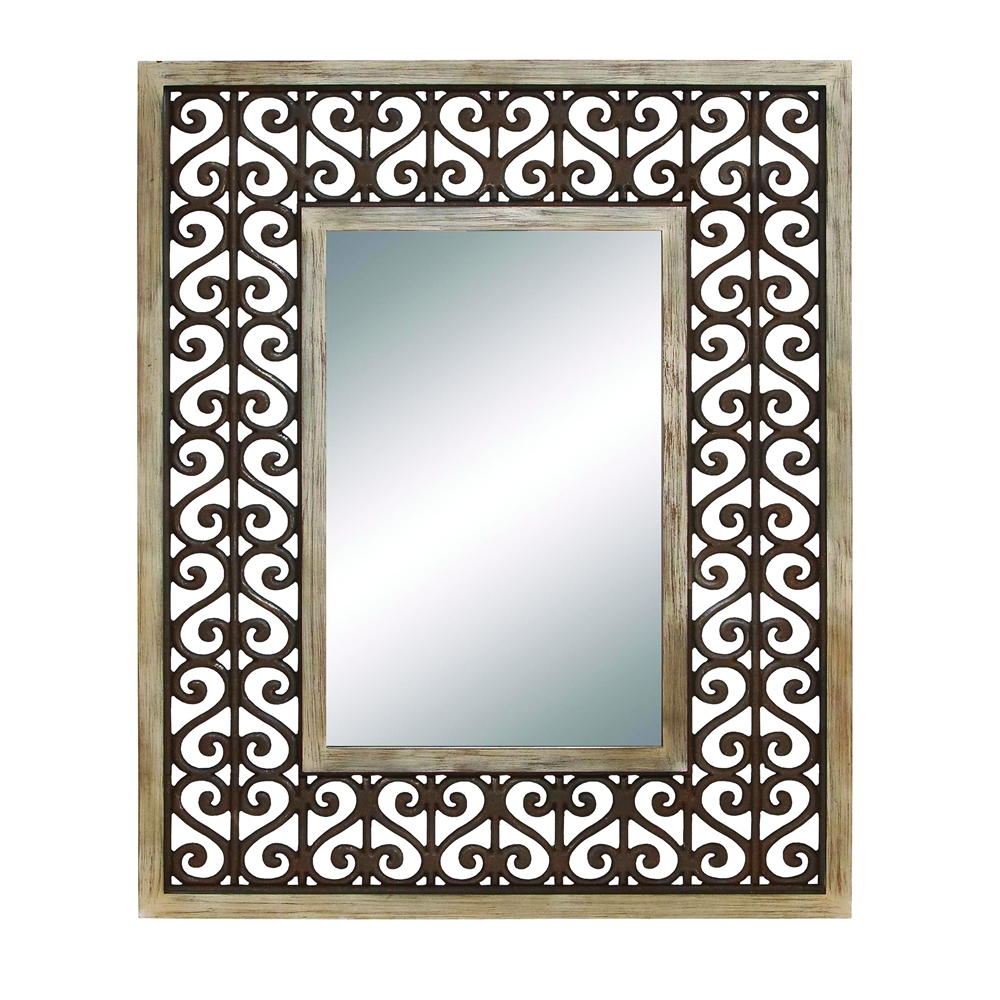 Long lasting wood frame high quality mirror for Mirror quality