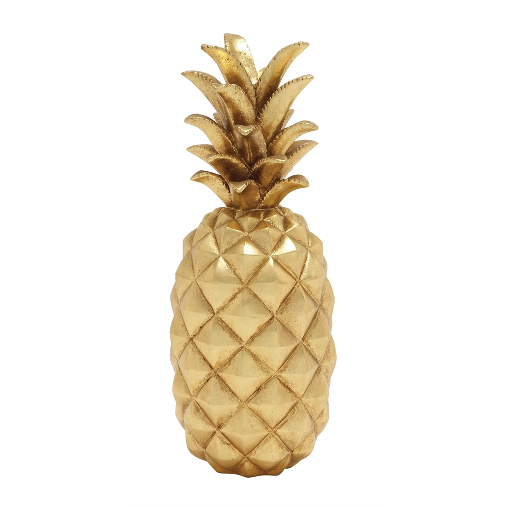 Stunning and sparkly golden pineapple decor for Ananas dekoration