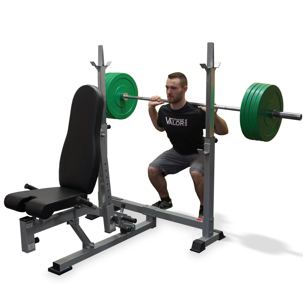 Valor Fitness Bf 52 Olympic Bench W Dual Positions