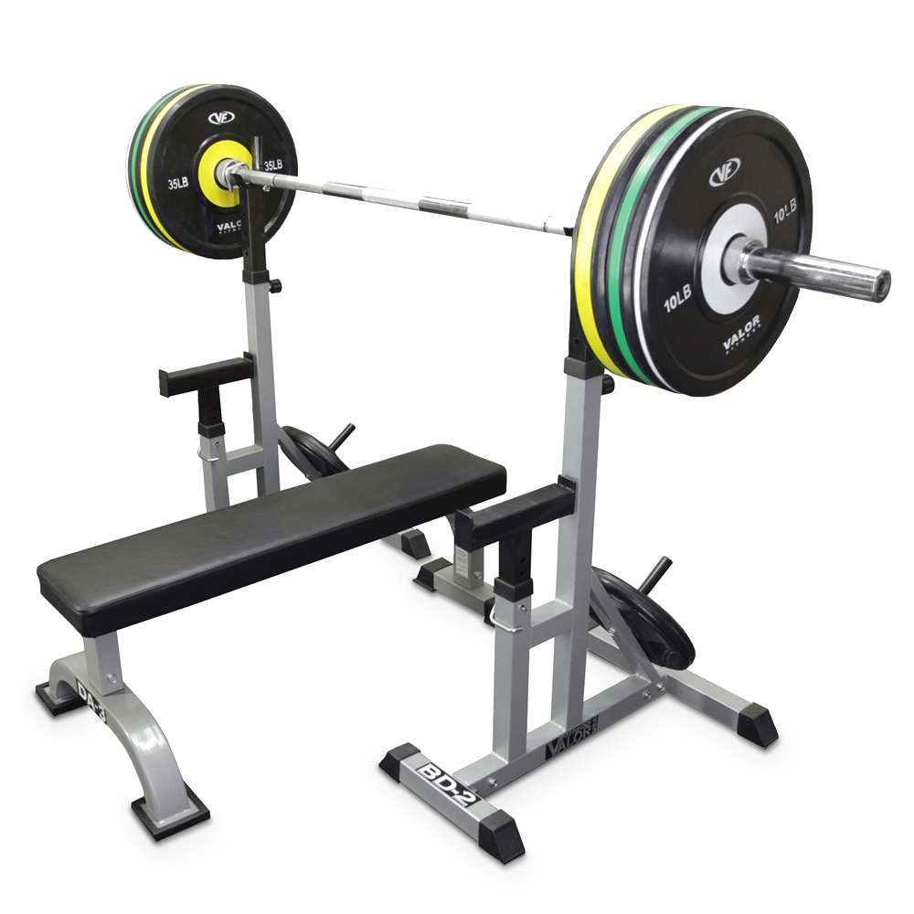 Valor Fitness Bd 2 Independent Bench Press Stands