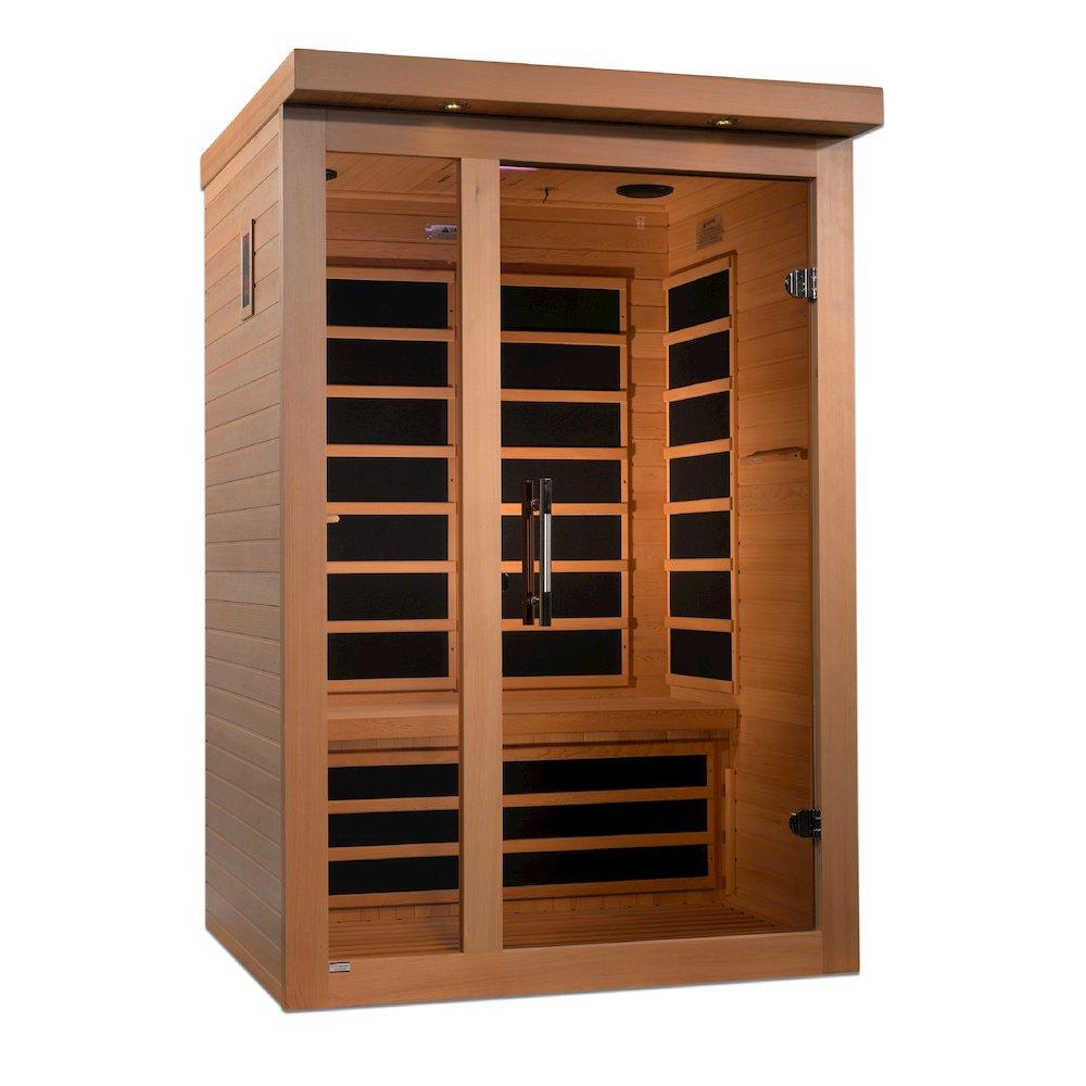 "Dynamic ""Amodora"" 2-person Low EMF Far Infrared Sauna. Picture 3"