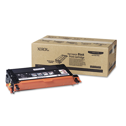 113R00726 High-Yield Toner, 8,000 Page-Yield, Black. Picture 1
