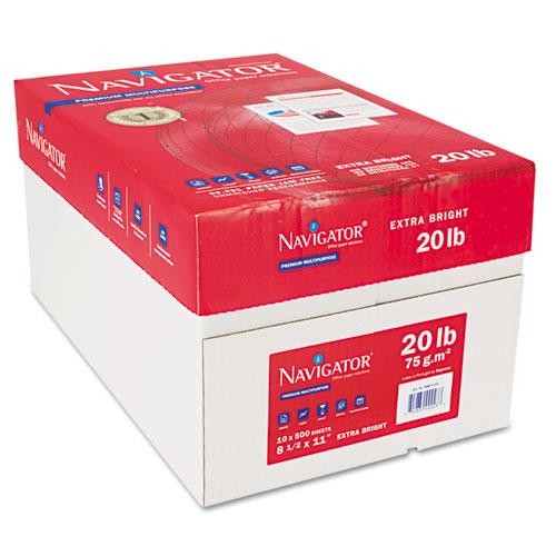 Premium Multipurpose Copy Paper, 97 Bright, 20lb, 8.5 x 11, White, 500 Sheets/Ream, 10 Reams/Carton. Picture 6