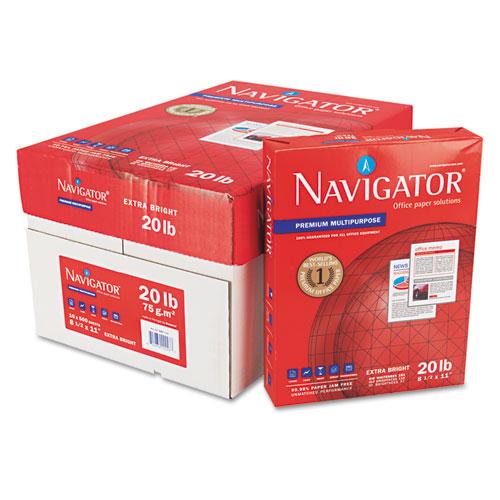 Premium Multipurpose Copy Paper, 97 Bright, 20lb, 8.5 x 11, White, 500 Sheets/Ream, 10 Reams/Carton. Picture 5