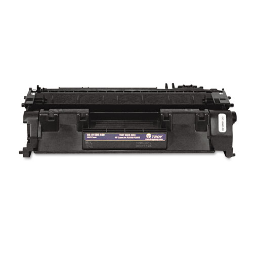 0281500500 05A MICR Toner, Alternative for HP CE505A, Black. The main picture.