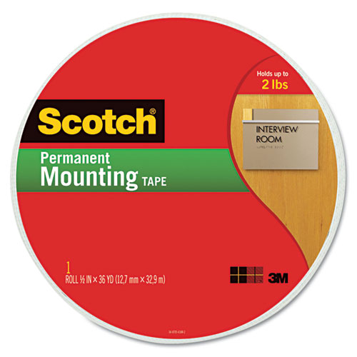 "Foam Mounting Tape, 3/4"" Wide x 1368"" Long. Picture 1"