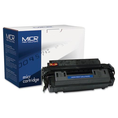 Compatible Q2610A(M) (10AM) MICR Toner, 6000 Page-Yield, Black. Picture 1