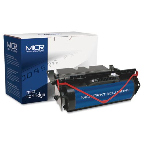 Compatible 64015SA (T640M) High-Yield MICR Toner, 21,000 Page-Yield, Black. Picture 1