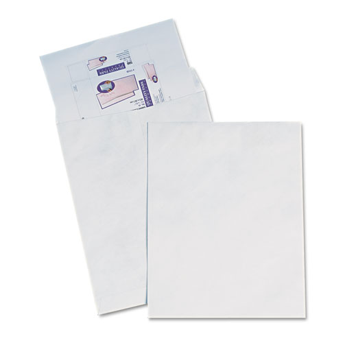 Catalog Mailers Made of DuPont Tyvek, Redi-Strip Closure, 15 x 20, White, 25/Box. Picture 1