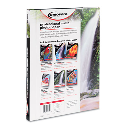Heavyweight Photo Paper, 11 mil, 8.5 x 11, Matte White, 50/Pack. Picture 2