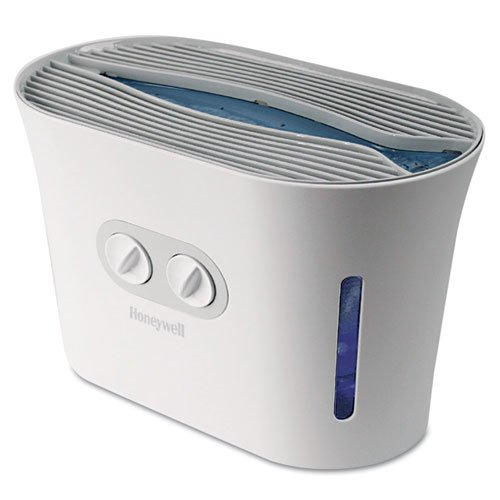 Easy-Care Top Fill Cool Mist Humidifier, White, 16 7/10w x 9 4/5d x 12 2/5h. Picture 1