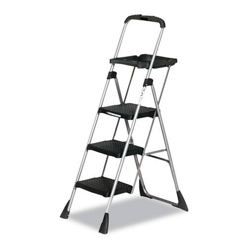 """Max Work Platform, 55"""" Working Height, 225 lbs Capacity, 3 Step, Black. Picture 1"""
