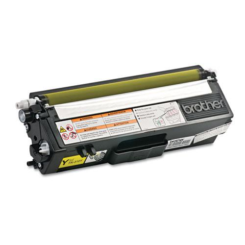 TN310Y Toner, 1,500 Page-Yield, Yellow. Picture 4