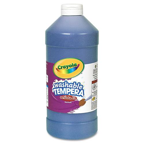 Artista II Washable Tempera Paint, Blue, 32 oz. Picture 1