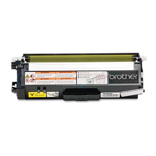 TN310Y Toner, 1,500 Page-Yield, Yellow. Picture 1