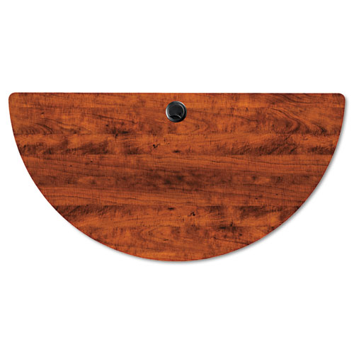 Alera Valencia Flip Training Table Base, Modesty Panel, 28.5 x 19.75 x 28.5, Black. Picture 6
