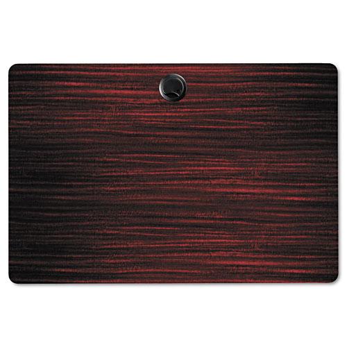 Alera Valencia Flip Training Table Base, Modesty Panel, 28.5 x 19.75 x 28.5, Black. Picture 5