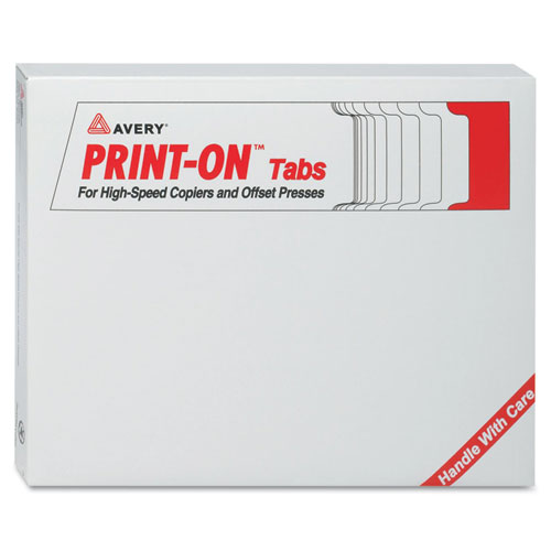 Customizable Print-On Dividers, 5-Tab, Letter, 30 Sets. Picture 1