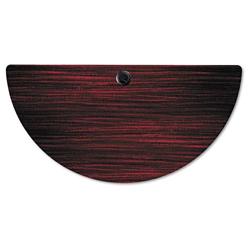 Alera Valencia Flip Training Table Base, Modesty Panel, 28.5 x 19.75 x 28.5, Black. Picture 8