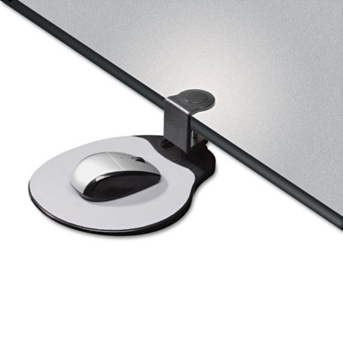 Clamp On Mouse Platform, 7.75 x 8, Black. Picture 3