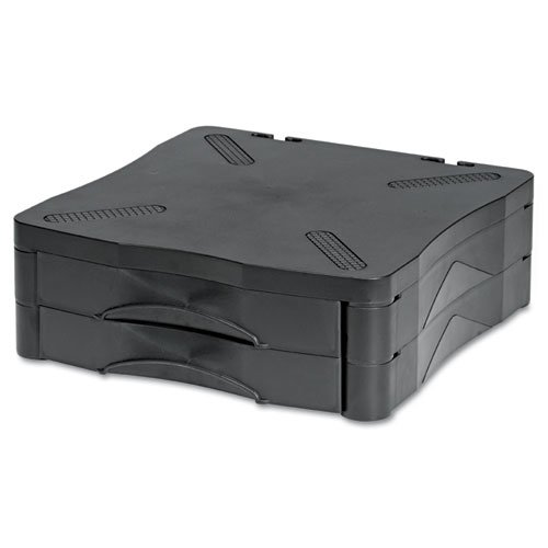 Kelly Computer Supply Monitor/Printer Stand w/2 Drawers,13 x 13 1/2 x
