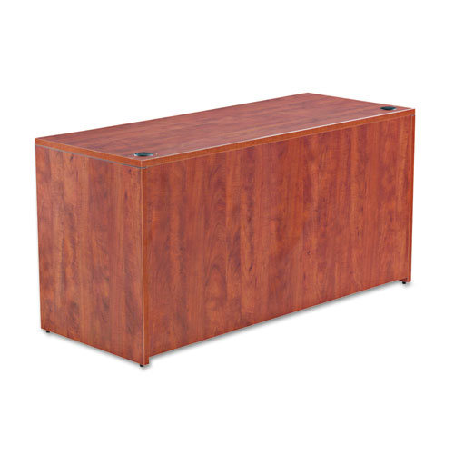 Alera Valencia Series Credenza Shell, 59.13w x 23.63d x 29.5h, Medium Cherry. Picture 1