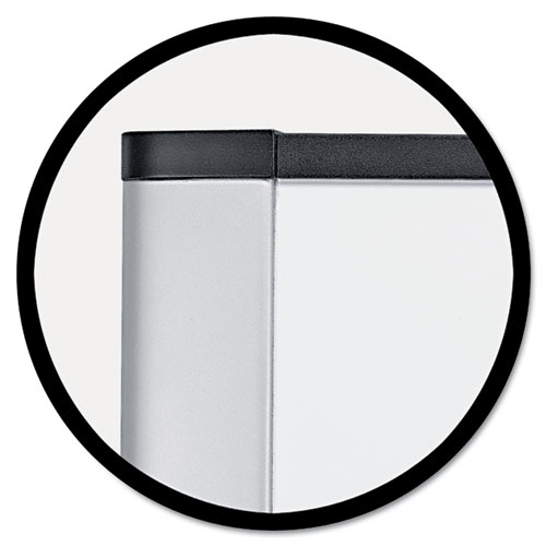 Melamine Dry Erase Board, 48 x 36, Aluminum Frame. Picture 2
