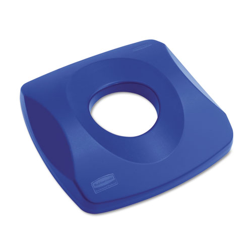 Untouchable Recycling Tops, 16 x 3.25, Blue. Picture 1