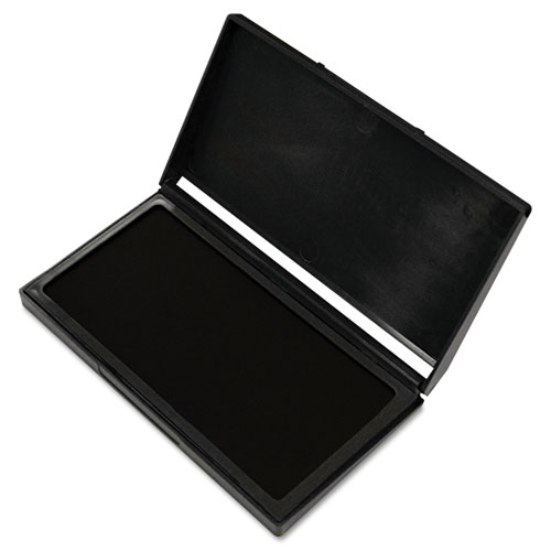 Microgel Stamp Pad for 2000 PLUS, 2 3/4 x 4 1/4, Black. Picture 1