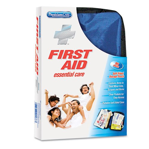 Soft-Sided First Aid Kit for up to 10 People, 95 Pieces/Kit. Picture 1