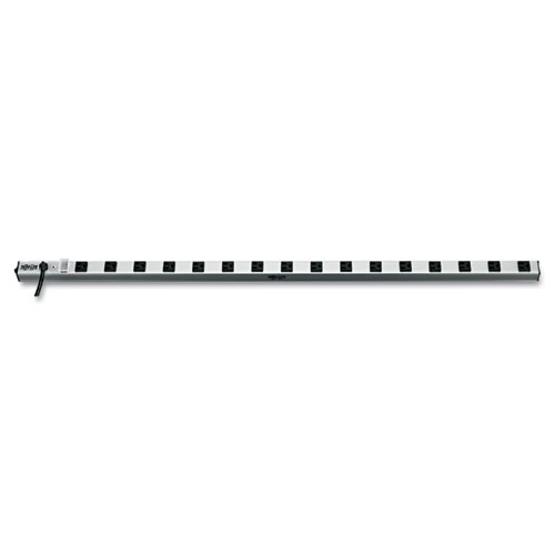 """Vertical Power Strip, 16 Outlets, 15 ft Cord, 48"""" Length. Picture 1"""
