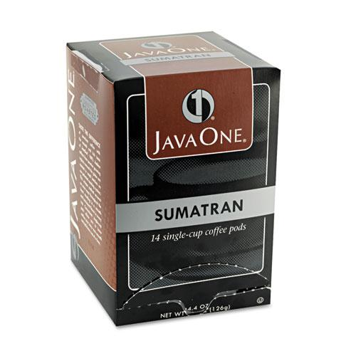 Coffee Pods, Sumatra Mandheling, Single Cup, 14/Box. Picture 2