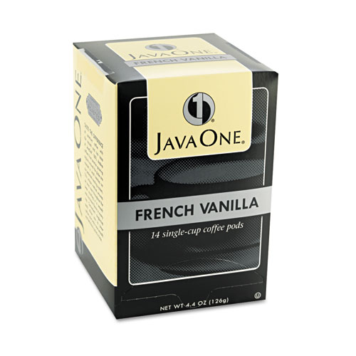 Coffee Pods, French Vanilla, Single Cup, 14/Box. Picture 2