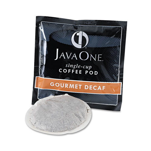 Coffee Pods, Colombian Decaf, Single Cup, Pods, 14/Box. Picture 2