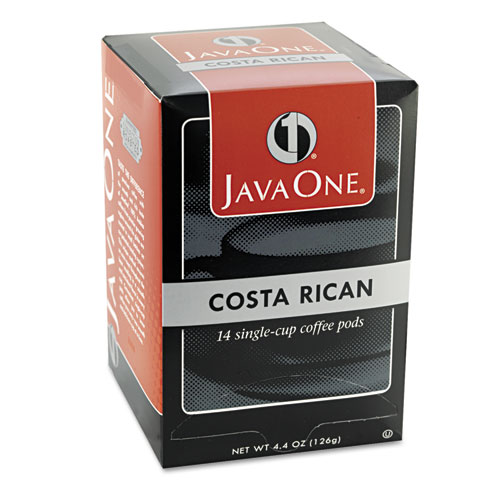 Coffee Pods, Estate Costa Rican Blend, Single Cup, 14/Box. Picture 3