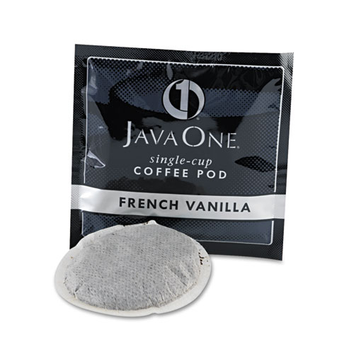 Coffee Pods, French Vanilla, Single Cup, 14/Box. Picture 3