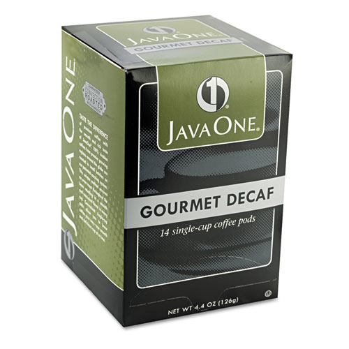 Coffee Pods, Colombian Decaf, Single Cup, Pods, 14/Box. Picture 3