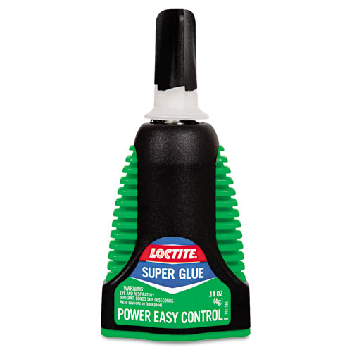 Extra Time Control Super Glue, 0.14 oz, Dries Clear. Picture 1