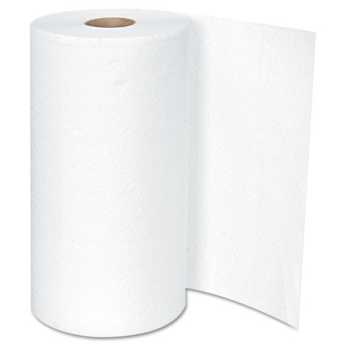 Kitchen Roll Towel, 2-Ply, 11 x 8.5, White, 250/Roll, 12 Rolls/Carton. Picture 2
