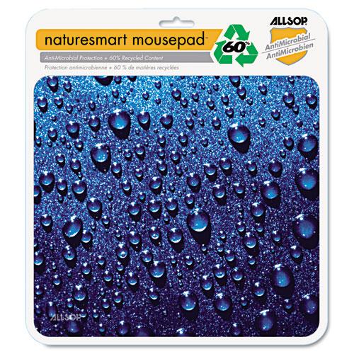 Naturesmart Mouse Pad, Raindrops Design, 8 1/2 x 8 x 1/10. Picture 2