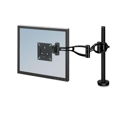 Professional Series Depth Adjustable Monitor Arm, 360 Degree Rotation, 37 Degree Tilt, 360 Degree Pan, Black, Supports 24 lb. Picture 1
