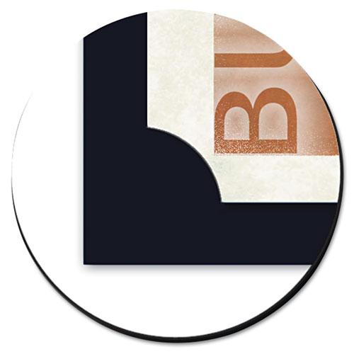 Certificate Holder, Black, 105lb Linen Stock, 12 x 9 1/2, 10/Pack. Picture 4
