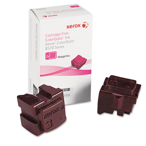 108R00927 Solid Ink Stick, 4,400 Page-Yield, Magenta. Picture 1