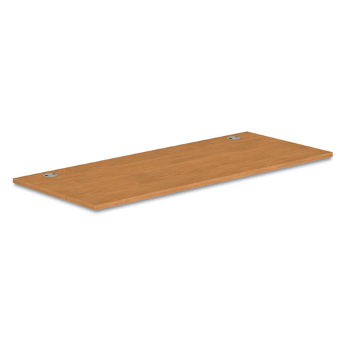 Voi Rectangular Worksurface, 72w x 30d, Harvest. Picture 1