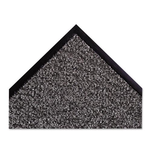 Dust-Star Microfiber Wiper Mat, 36 x 60, Charcoal. Picture 2
