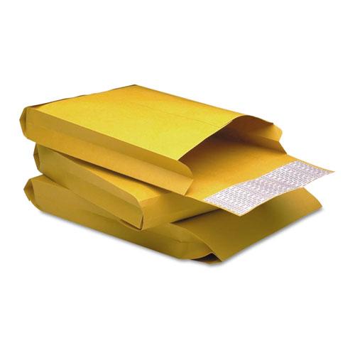 Redi-Strip Kraft Expansion Envelope, #10 1/2, Square Flap, Redi-Strip Closure, 9 x 12, Brown Kraft, 25/Pack. Picture 1