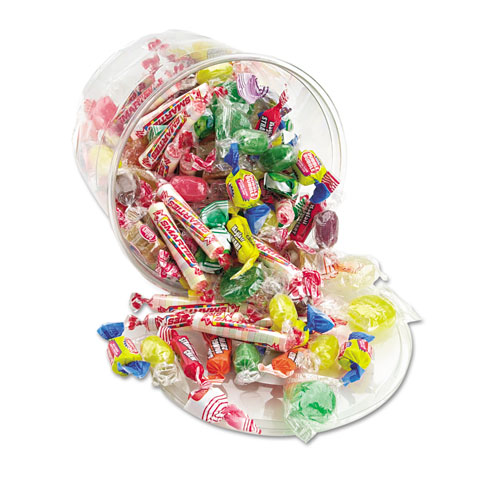 All Tyme Favorite Assorted Candies and Gum, 2 lb Resealable Plastic Tub. Picture 1